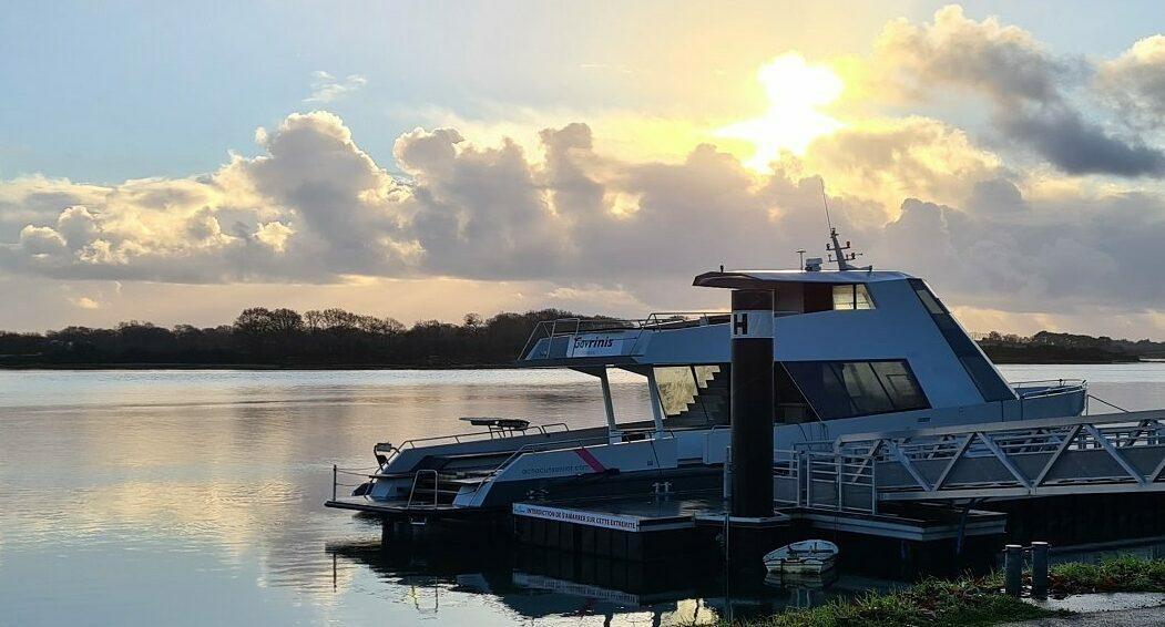 Yacht Gavrinis, au port de Vannes